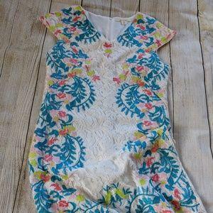 Multicolored Lace Miami Dress from Francesca's M